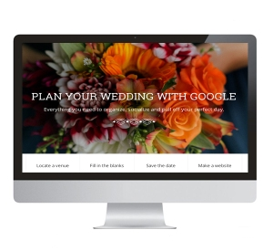 Google Weddings portal