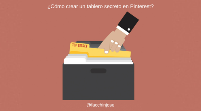 Tablero secreto en pinterest